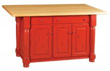 Amish Kitchen Islands Amp Workstations Solid Wood Amish