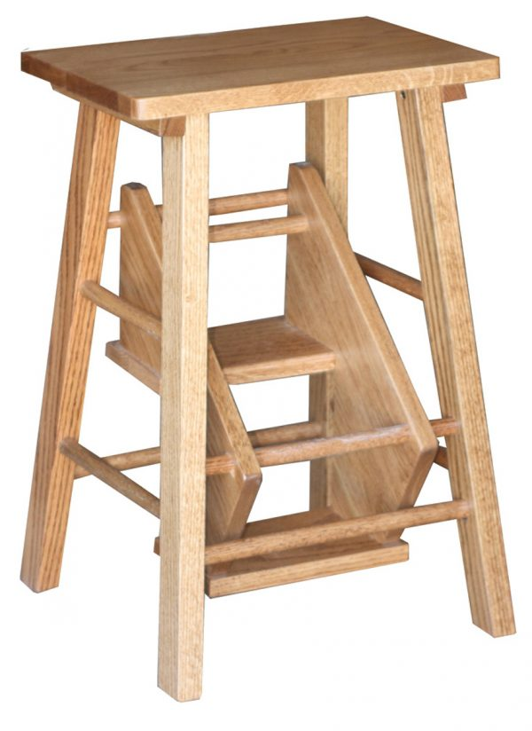 Up To 33 Off Folding Step Stool Solid Wood Amish Furniture