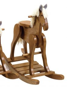 Up To 33 Off Amish Wooden Rocking Horses Amish Outlet Store