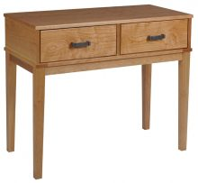 Oak amish sofa tables amish outlet store alpine sofa table watchthetrailerfo