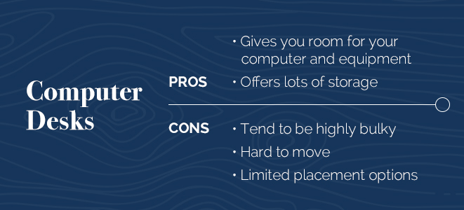 Computer Desk Pros and Cons