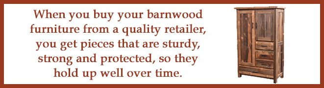 buy reclaimed barnwood furniture from a quality retailer