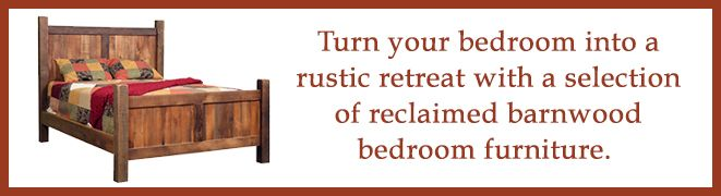 turn your bedroom into a rustic retreat