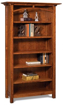 Artesa 5 Shelf Bookcase