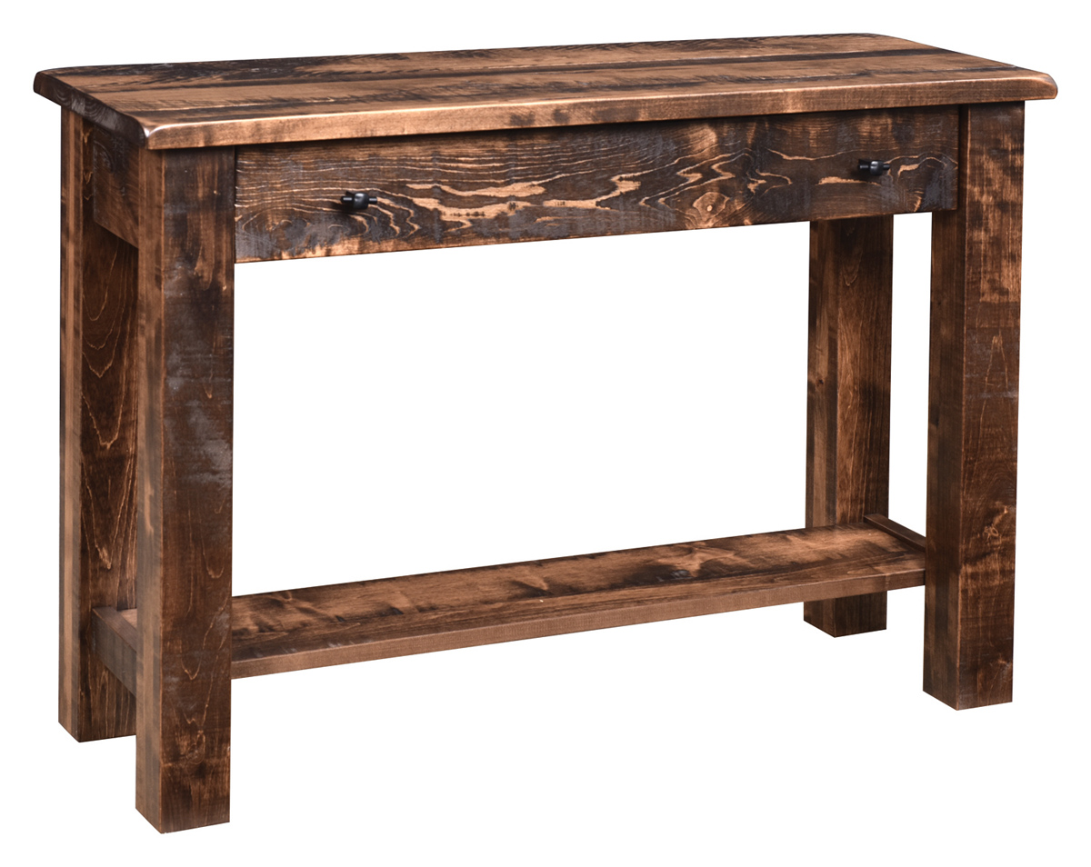 Prime Everest Rustic Sofa Table In Brown Maple Squirreltailoven Fun Painted Chair Ideas Images Squirreltailovenorg