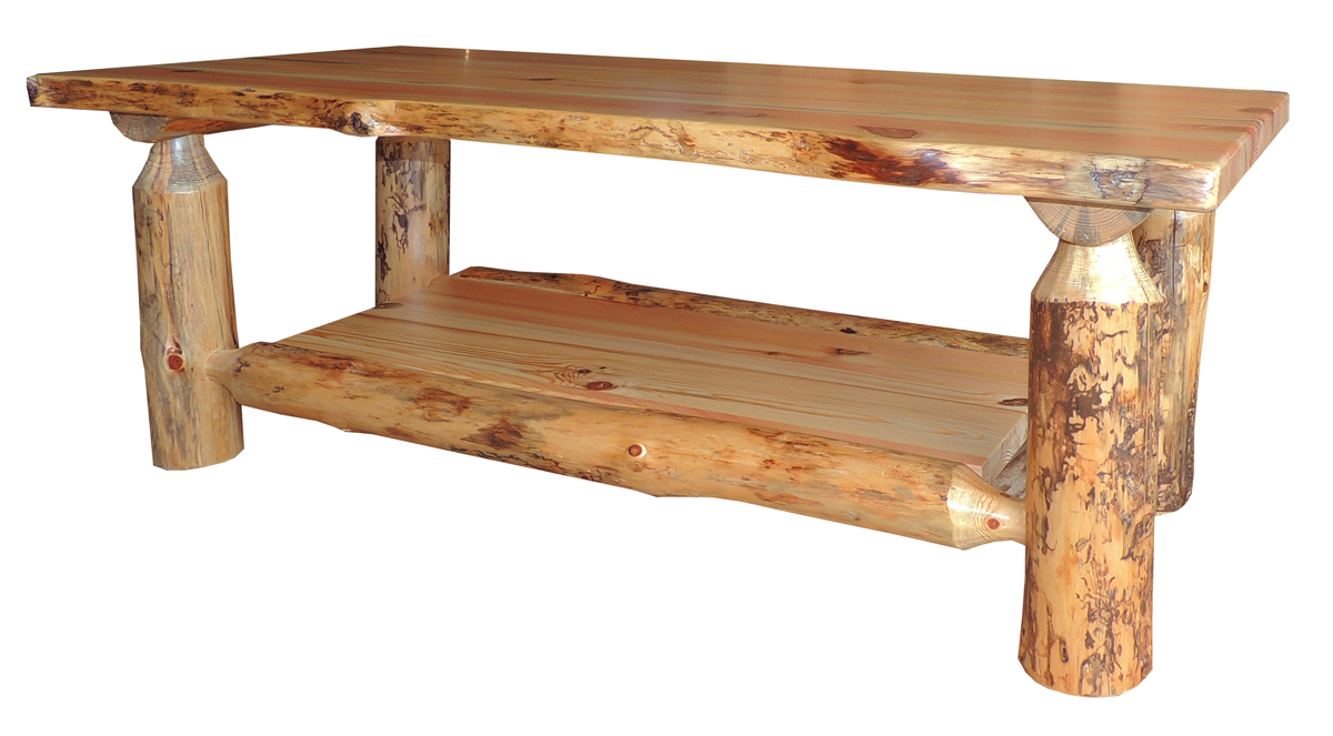 - Up To 33% Off Blue Ridge Rustic Pine Coffee Table - Amish Outlet Store