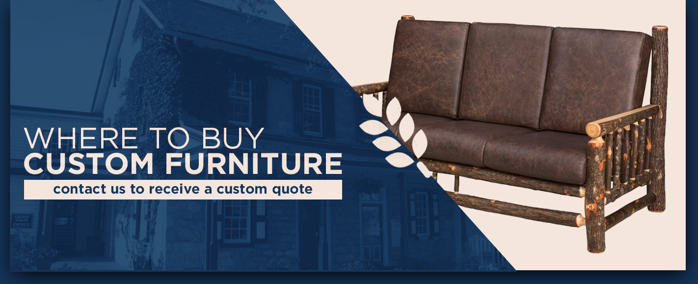 Where to Buy Custom Furniture