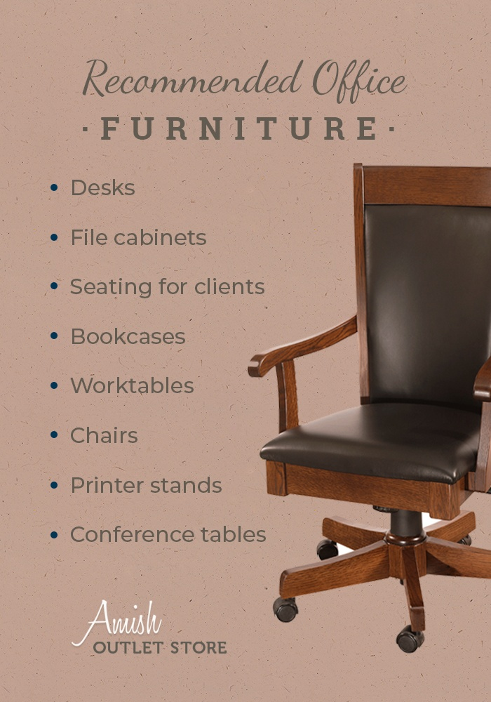 Recommended Office Furniture