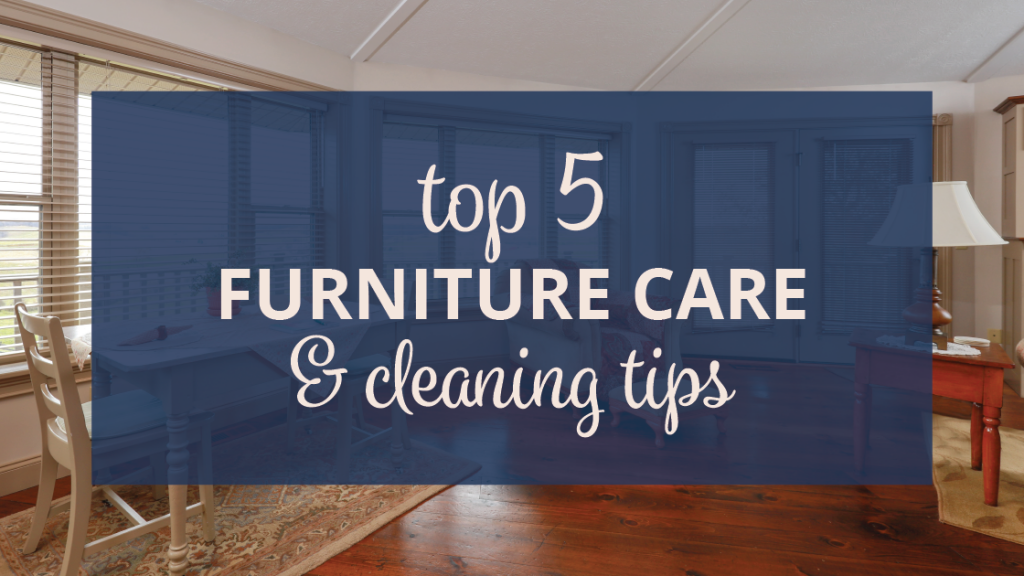 top 5 cleaning tips header