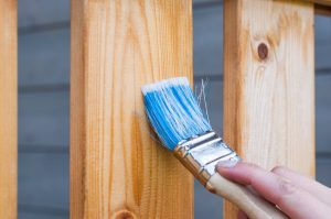 Treating wooden outdoor furniture
