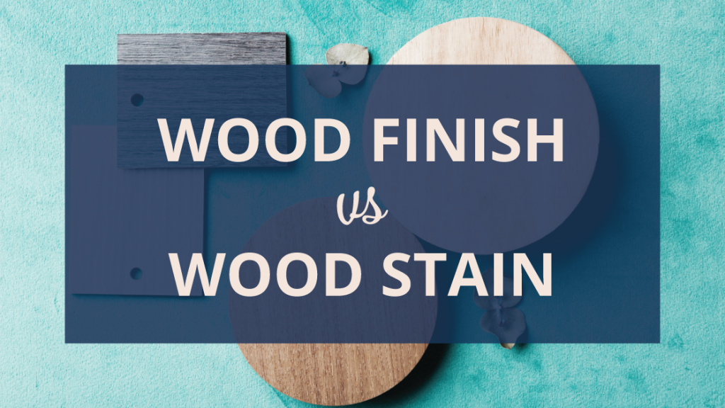 Wood Finish Vs Wood Stain Amish Outlet Store