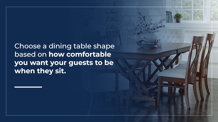 What Dining Table Shape Do I Need