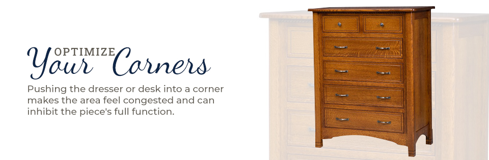 Optimize the Corners of Your Room