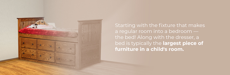 Space-saving childrens bedss