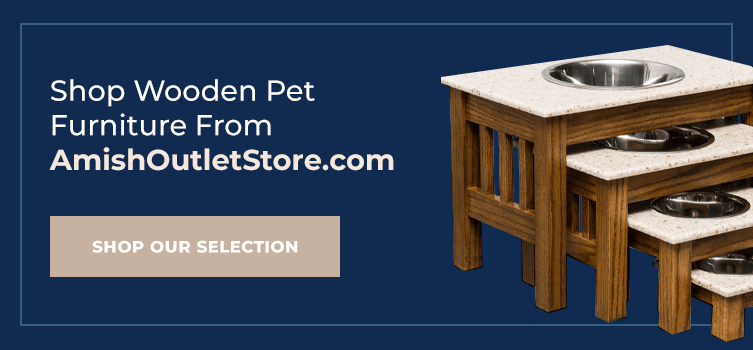Shop wooden pet furniture from Amish Outlet Store