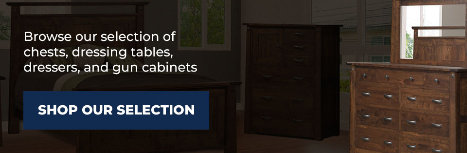 Shop AmishOutletStore.com for Space-Saving Storage for Your Valuables